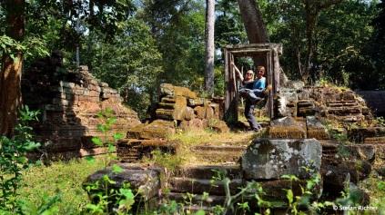 Julia und Stefan auf Weltreise @ Angkor.