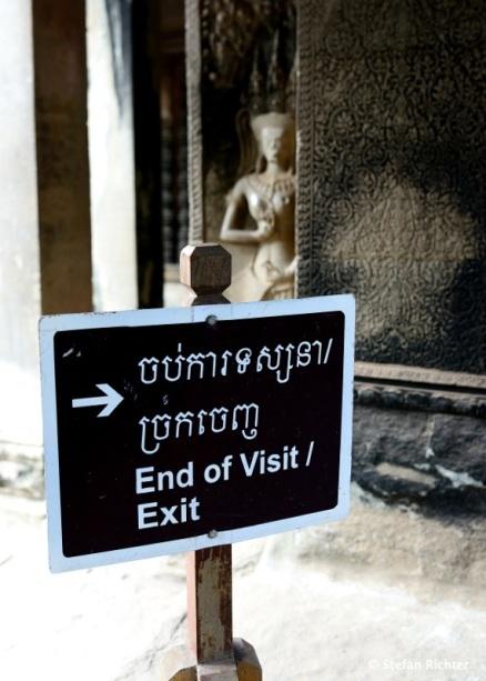 End of visit. Goodbye Kambodscha.