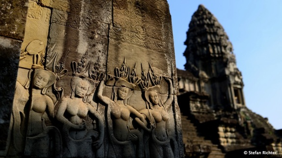 Nymphen @ Angkor Wat.