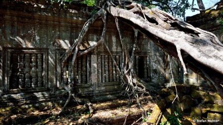 Die Außenmauern des Tempels messen 181 x 152 m.