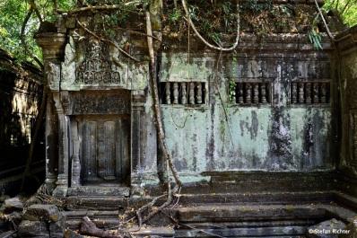 Auch wenn Beng Mealea als Hindutempel erbaut wurde, finden sich auch buddhistische Merkmale.