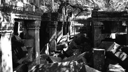 Die innere Mauer von Bang Mealea.