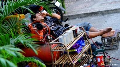 Schlafendes Kambodscha.