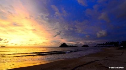 Sunset @ Nacpan Beach. Ohne Bearbeitung im Photoshop...