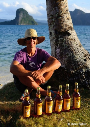 12 Tage, 6 Flaschen Rum - passt!