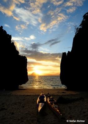 Sonnenaufgang @ Miniloc Island.