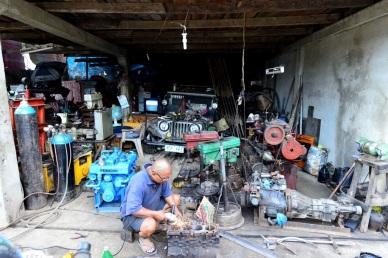 Werkstatt in El Nido.