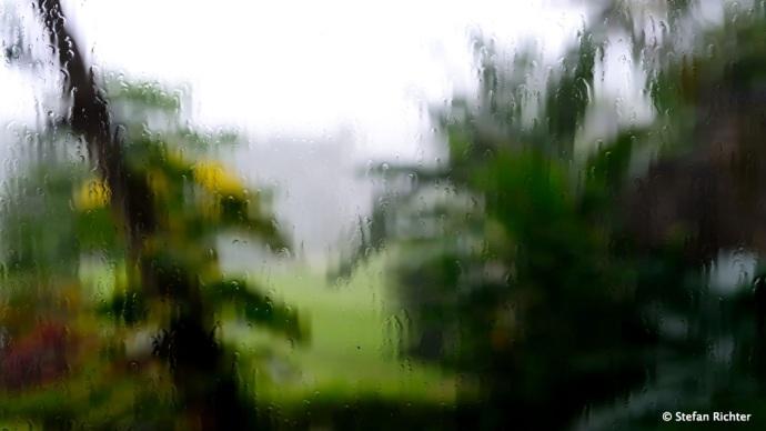 Regenzeit auf Bali.