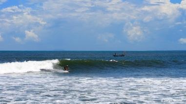 Julia @ Medewi Beach.