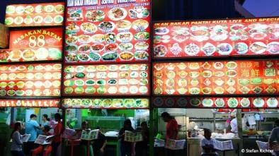 Food Court Kuta Beach.