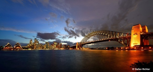 Sunset @ Harbour Bridge/Sydney.