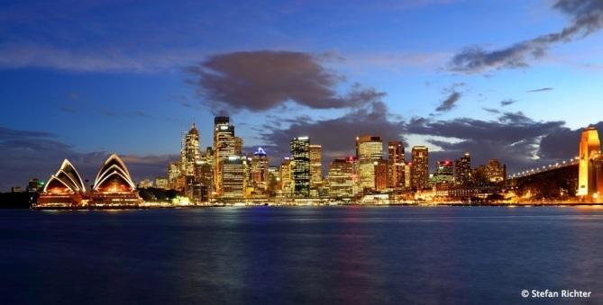 Sunset @ Sydney Day 1.