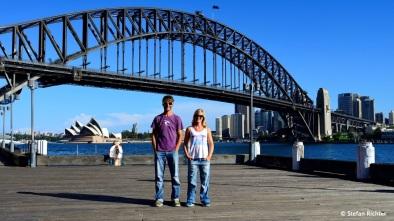 Julia uns Stefan auf Weltreise in Sydney: Von vorne….