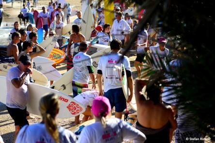 Eine wundervolle Veranstaltung in Erinnerung an einen jungen Surfer.