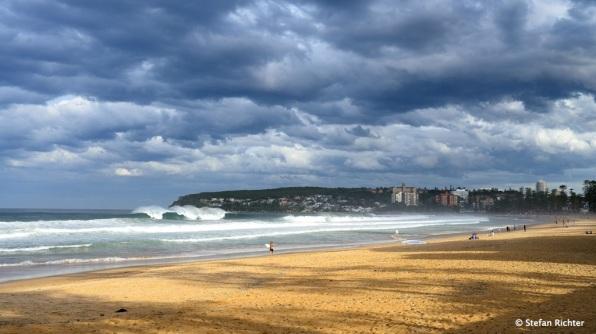 Big Waves @ Manly Beach.