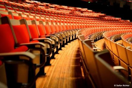 Konzertsaal in der Oper.