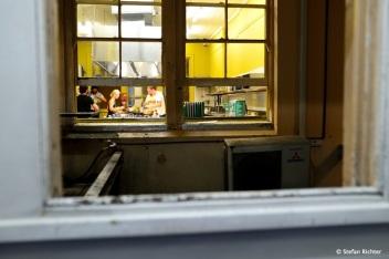 Kochaction in der Großküche.