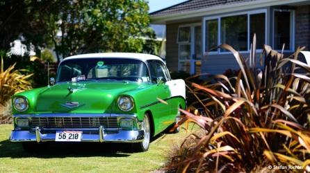 American Style im Vorgarten von Neuseeland.