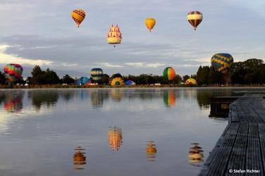 Ballons over Waikato.