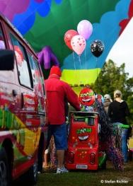 Kleine Ballons für die Kids.