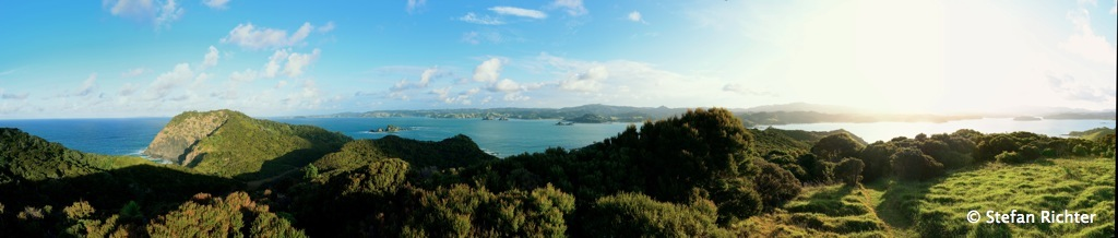 Die Bay of Islands.