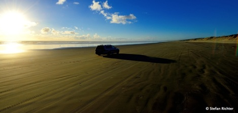 Ein Neuseeland-Klassiker: Ninety Mile Beach.