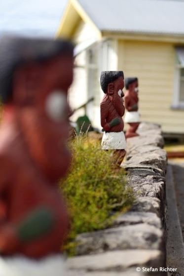 Te Whakarewarewa Maori Village.