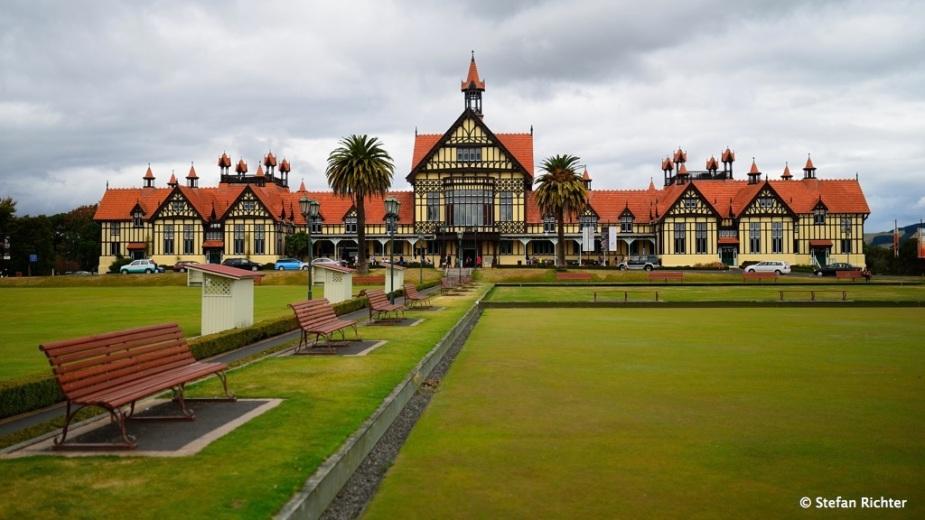 Rotorua Museum of Art and History.