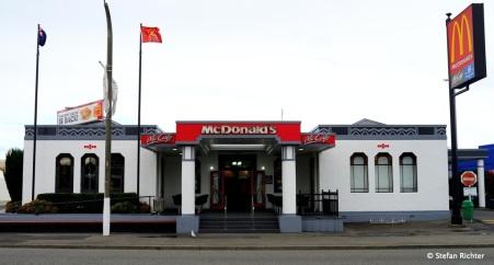 Mc Donald's. Art Deco einer von zweien weltweit.