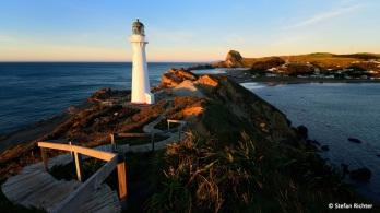 Castle Point wurde von Captain Cook so genannt, weil ihn die Felsformationen an die Zinnen einer Burg erinnerten.