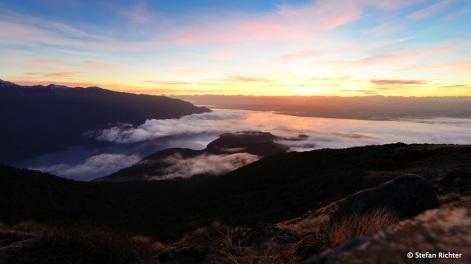 Morgens, 8:00 Uhr im Fiordland.