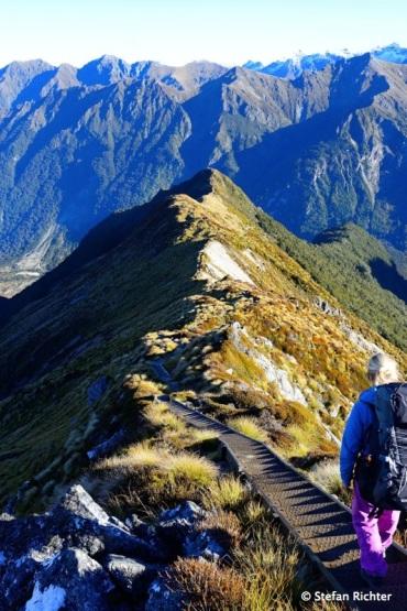 Bergrückenwandern.
