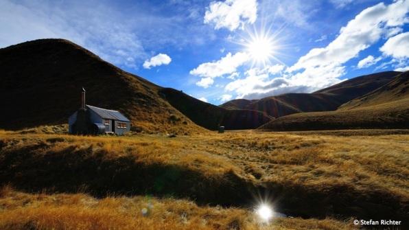 Perfekter Herbsttag in Neuseeland.
