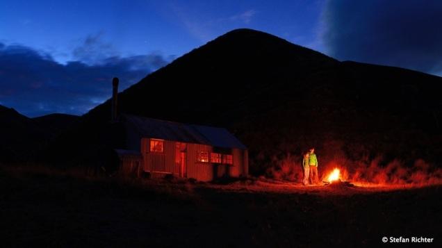 Hüttenromantik in Neuseeland.