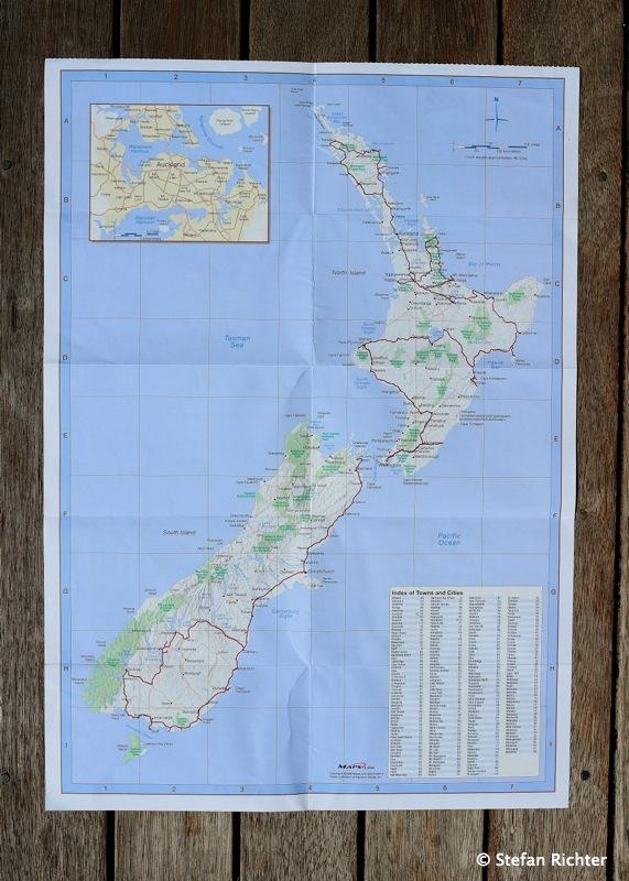 8.000 km kreuz und quer durch Neuseeland.