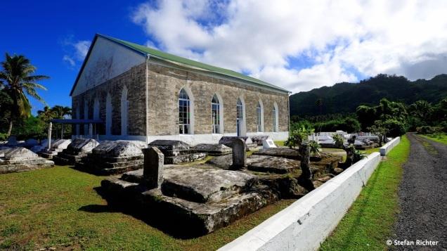 Noch eine Kirche. Auf Rarotonga wimmelt es nur so von Kirchen.