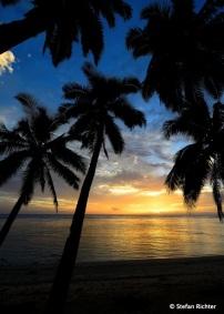 Sunset @ Rarotonga.
