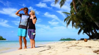 Julia und Stefan auf Weltreise @ Cook Islands.