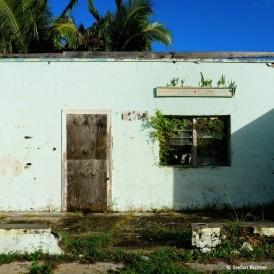 Die alte Amuri Klinik auf Aitutaki.
