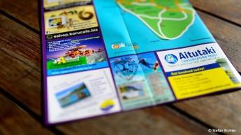 Unschlagbares Verkaufsargument von Aitutaki Adventures: 'Husband and wife team'.