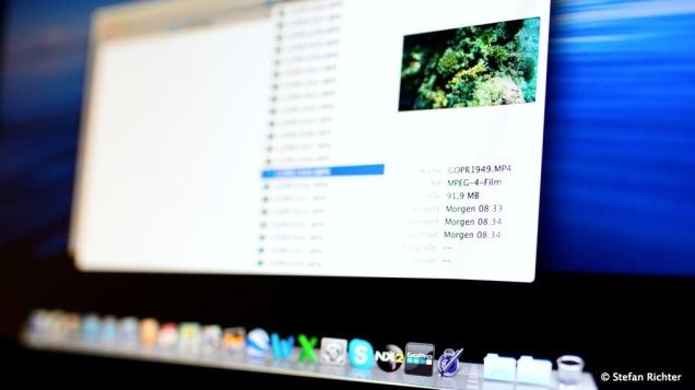 Das MacBook hat die Datumsgrenze nicht verkraftet. Das Video von heute wurde angeblich morgen aufgenommen.