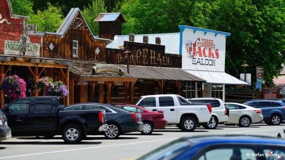 In Winthrop gibt es den ältesten (legalen) Saloon in ganz Washington.
