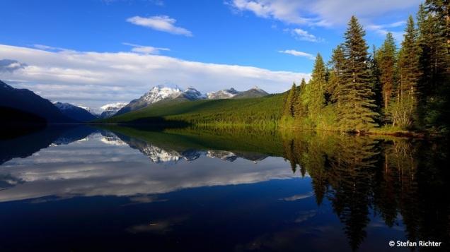 Bowman Lake @ Glacier National Park, Montana.