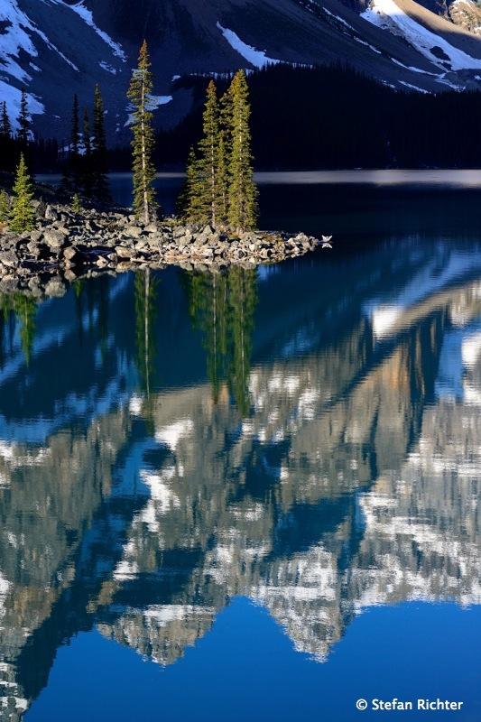 Noch mehr Spiegel @ Moraine Lake.