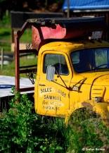 Gehört zum Landschaftsbild: Der Truck.
