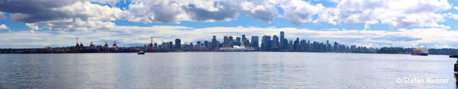 Skyline Downtown Vancouver.