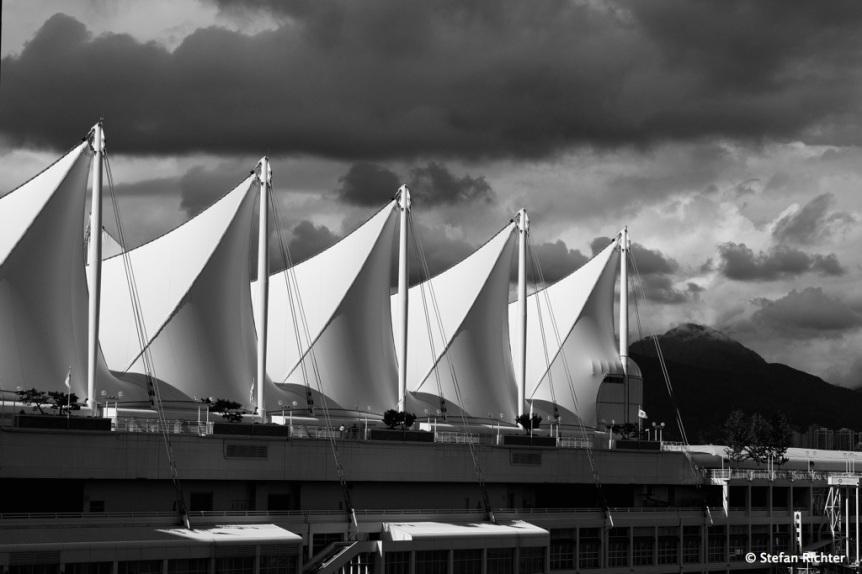 Kreuzfahrtanleger in Vancouver.