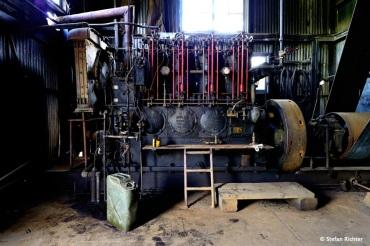 Coal Creek Dregge. 3,2 Tonnen Gold wurden hier in 17 Jahren abgebaut.