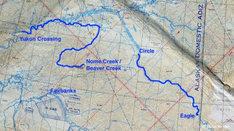 Unsere River Trips in Alaska.