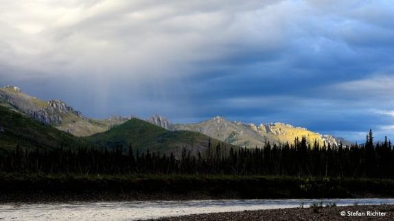 Sonne, Wolken, Regen. Alles zusammen auf einem Bild. Kein lucky shot :-)